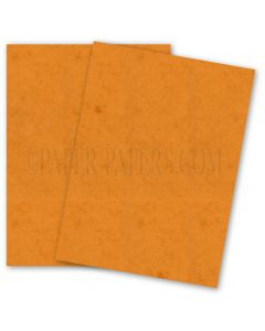 DUROTONE Butcher ORANGE - 8.5X11 Card Stock Paper - 80lb Cover - 250 PK