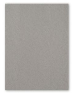 [Clearance] 100% Pure Cotton Letterpress Smoke Gray 111C/20Pt/300gsm 8.5X11 (216X279) - 25 PK