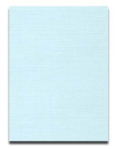 Neenah CLASSIC LINEN 8.5 x 11 Card Stock - Haviland Blue - 80lb Cover - 250 PK [DFS-48]