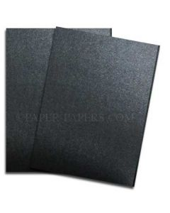 Shine ONYX - Shimmer Metallic Card Stock Paper - 8.5 x 11 - 107lb Cover (290gsm) - 100 PK [DFS-48]