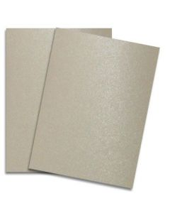 Shine SAND - Shimmer Metallic Card Stock Paper - 8.5 x 11 - 107lb Cover (290gsm) - 500 PK [DFS-48]