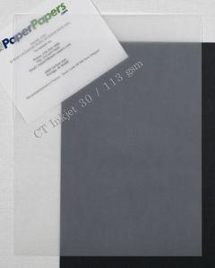 CT CLEAR INKJET Translucent (Vellum) 8.5 x 11 Paper - 50 PK