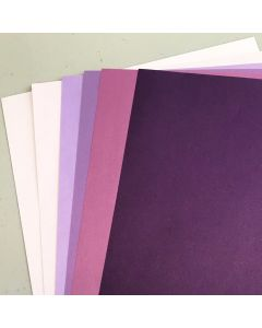 Crafters Pure Hues - Shades of PURPLE - METALLIC Finish (6 colors / 5 each) - 30 PK