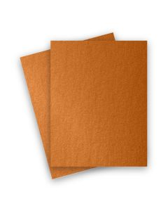 Stardream Metallic - 8.5X11 Paper - COPPER - 81lb Text (120gsm) - 25 PK