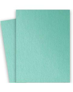 Stardream Metallic - 28X40 Full Size Paper - LAGOON - 105lb Cover (284gsm) - 100 PK