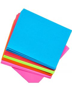 Bright Paper Sizzlers Variety Pack - 8.5-x-11-inches - Assorted Card stock (5 color / 10 sheets each) - 50 PK [DFS]
