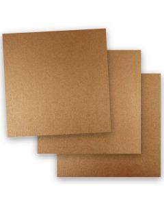 Shine COPPER - Shimmer Metallic Paper - 12 x 12 - 32/80lb Text (118gsm) - 50 PK