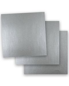 Shine PEWTER - Shimmer Metallic Paper - 12 x 12 - 32/80lb Text (118gsm) - 50 PK