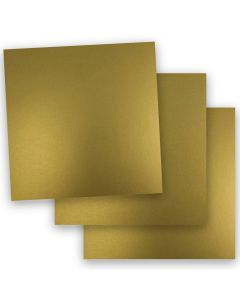 FAV Shimmer Pure Gold - 12 x 12 Paper - 81lb Text (120gsm) - 50 PK