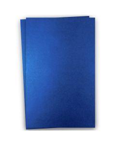 Shine BLUE SATIN - Shimmer Metallic Paper - 12x18 - 32/80lb Text (118gsm) - 200 PK