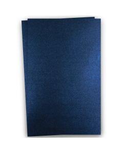 Shine MIDNIGHT Blue - Shimmer Metallic Card Stock Paper - 12x18 - 107lb Cover (290gsm) - 100 PK