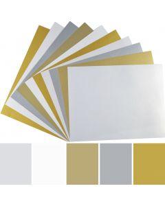 FAV Shimmer 8.5 x 11 Paper - 32/81lb Text (120gsm)