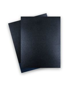 Shine ONYX - Shimmer Metallic Card Stock Paper - 8.5 x 11 - 107lb Cover (290gsm) - 25 PK