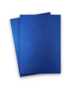 Shine BLUE SATIN - Shimmer Metallic Paper - 8.5 x 14 - 32/80lb Text (118gsm) - 200 PK