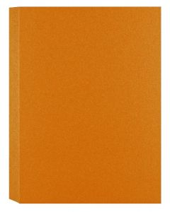 Shimmer Orange Gold Fusion 107C (5X7) A7 Flat Cards - 50 pack