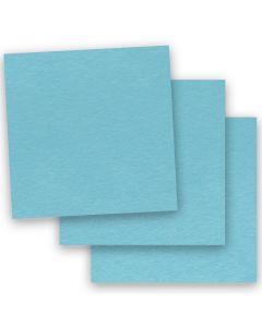 BASIS COLORS - 12 x 12 CARDSTOCK PAPER - Aqua - 80LB COVER - 50 PK