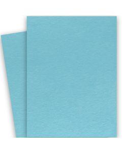 BASIS COLORS - 26 x 40 CARDSTOCK PAPER - Aqua - 80LB COVER