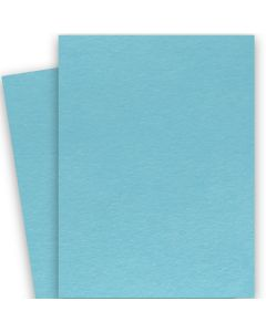BASIS COLORS - 26 x 40 CARDSTOCK PAPER - Aqua - 80LB COVER - 100 PK