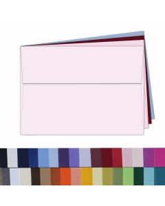 A7 BASIS COLORS Announcement Envelopes