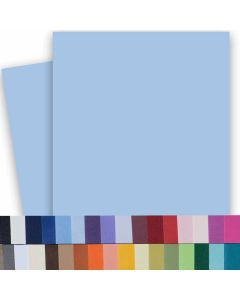 BASIS COLORS - 26 x 40 - 80lb Cover (216gsm) FOLIO Cardstock Paper (minimum 20 sheets per color)