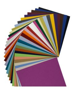 BASIS COLORS - 8.5 x 11 Letter Size Cardstock Paper - 80LB COVER