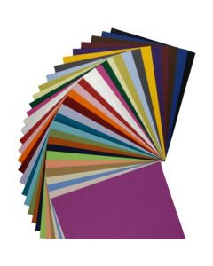 Colorful Matte Basis 8.5 x 11 Variety CARDSTOCK Weight Paper - (31 colors / 3 each) - 93 PK