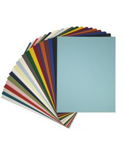 Colorful Matte Basis 8.5 x 11 Variety TEXT Weight Paper - (21 colors / 4 each) - 84 PK