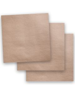 Brown Bag Paper - KRAFT - 12 x 12 - 65lb COVER - 50 PK