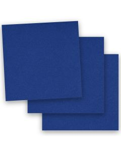 BASIS COLORS - 12 x 12 CARDSTOCK PAPER - Blue - 80LB COVER - 50 PK