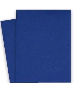 BASIS COLORS - 26 x 40 CARDSTOCK PAPER - Blue - 80LB COVER