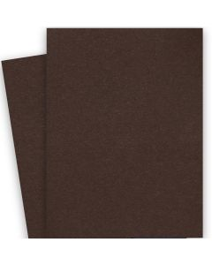 [Clearance] BASIS COLORS - 26 x 40 CARDSTOCK PAPER - Brown - 80LB COVER