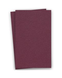 BASIS COLORS - 11 x 17 CARDSTOCK PAPER - Burgundy - 80LB COVER - 100 PK
