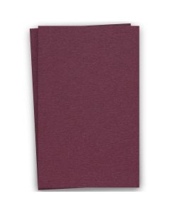BASIS COLORS - 12 x 18 CARDSTOCK PAPER - Burgundy - 80LB COVER - 100 PK