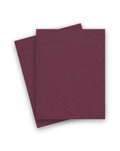 BASIS COLORS - 8.5 x 11 CARDSTOCK PAPER - Burgundy - 80LB COVER - 25 PK