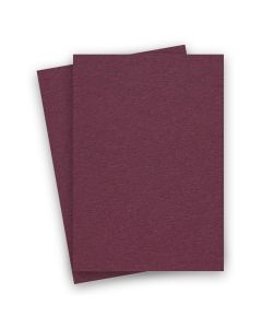 BASIS COLORS - 8.5 x 14 CARDSTOCK PAPER - Burgundy - 80LB COVER - 100 PK