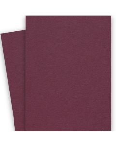 BASIS COLORS - 26 x 40 CARDSTOCK PAPER - Burgundy - 80LB COVER