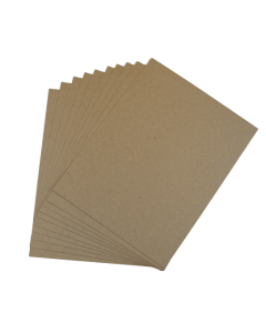 Kraft Raw CHIPBOARD 30 PT 8.5-x-11-inch - 100 Sheets per pack