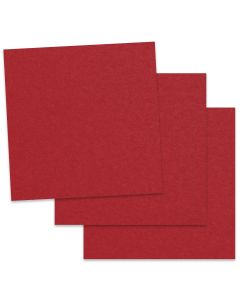 Crush Cherry - 12X12 Card Stock Paper  - 92lb Cover (250gsm) - 50 PK