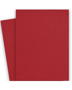 Crush Cherry/Ciliegie - 28X40 (72X102cm) Card Stock Paper  - 92lb Cover (250gsm) - 100 PK