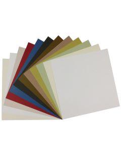 Crush 12 x 12 Cardstock Variety Pack (12 colors / 3 each) - 36 PK