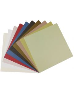 Crush 12 x 12 Text Variety Pack (10 colors / 6 each) - 60 PK