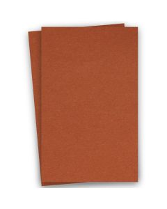 BASIS COLORS - 11 x 17 CARDSTOCK PAPER - Dark Orange - 80LB COVER - 100 PK