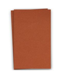 BASIS COLORS - 12 x 18 CARDSTOCK PAPER - Dark Orange - 80LB COVER - 100 PK