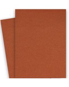 BASIS COLORS - 26 x 40 CARDSTOCK PAPER - Dark Orange - 80LB COVER