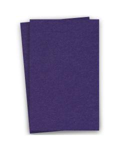 BASIS COLORS - 11 x 17 CARDSTOCK PAPER - Dark Purple - 80LB COVER - 100 PK