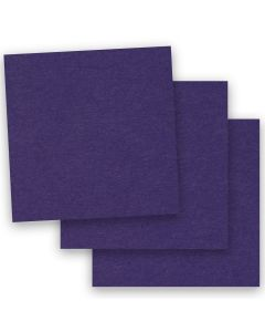 BASIS COLORS - 12 x 12 PAPER - Dark Purple - 28/70 TEXT - 50 PK