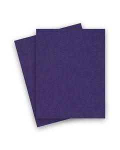 BASIS COLORS - 8.5 x 11 CARDSTOCK PAPER - Dark Purple - 80LB COVER - 100 PK