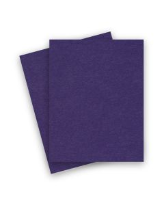 BASIS COLORS - 8.5 x 11 CARDSTOCK PAPER - Dark Purple - 80LB COVER - 1200 PK