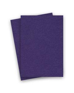 BASIS COLORS - 8.5 x 14 CARDSTOCK PAPER - Dark Purple - 80LB COVER - 100 PK