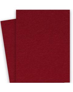 BASIS COLORS - 26 x 40 CARDSTOCK PAPER - Dark Red - 80LB COVER